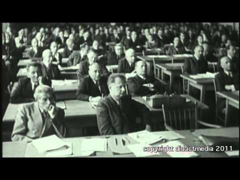 Gründung beider deutscher Staaten - Prozess der Verfassungsgebung