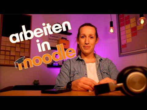 Moodle für Lernende (2): Arbeiten in Moodle