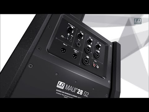 LD Systems MAUI 28 G2 - Compact column PA system active with built-in mixer and Bluetooth