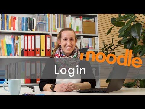 Arbeiten mit Moodle (2): Login
