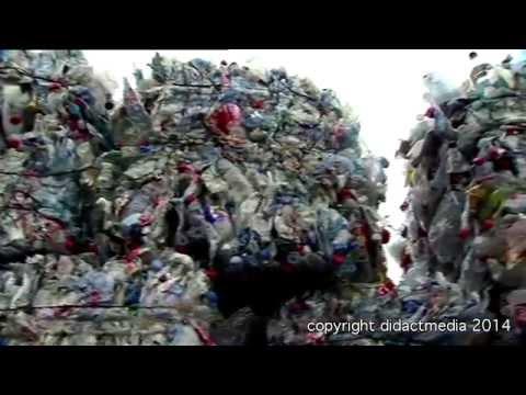 Plastikmüll - Wertstoffe werden recycelt