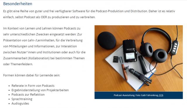 """Screenshot aus """"Der Goldstandard für OER-Materialien"""" (Buch lizenziert unter CC BY 4.0, Blanche Fabri, Gabi Fahrenkrog, Jöran Muuß-Merholz (Hrsg.))"""